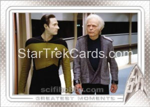 Star Trek 50th Anniversary Trading Card 36