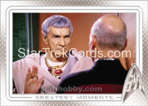 Star Trek 50th Anniversary Trading Card 42