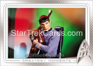 Star Trek 50th Anniversary Trading Card 5