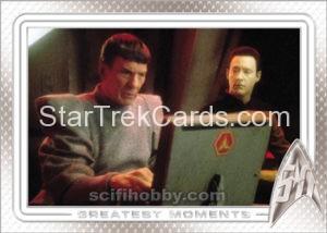 Star Trek 50th Anniversary Trading Card 51