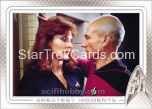 Star Trek 50th Anniversary Trading Card 53