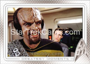 Star Trek 50th Anniversary Trading Card 54