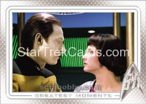 Star Trek 50th Anniversary Trading Card 55