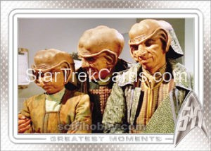 Star Trek 50th Anniversary Trading Card 58