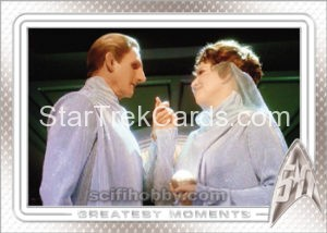 Star Trek 50th Anniversary Trading Card 59