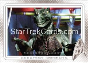 Star Trek 50th Anniversary Trading Card 74