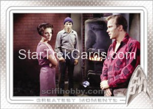 Star Trek 50th Anniversary Trading Card 8