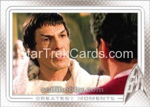 Star Trek 50th Anniversary Trading Card 86