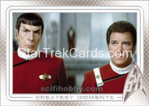 Star Trek 50th Anniversary Trading Card 88