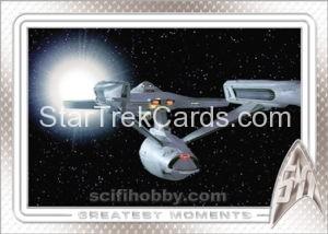 Star Trek 50th Anniversary Trading Card 90