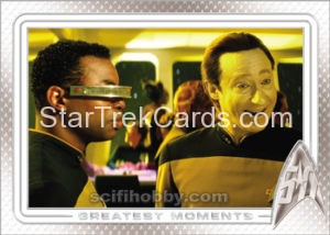 Star Trek 50th Anniversary Trading Card 91
