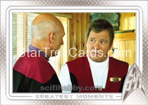 Star Trek 50th Anniversary Trading Card 92