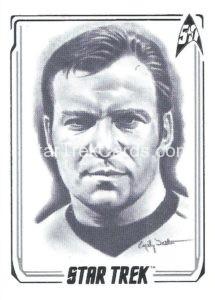 Star Trek 50th Anniversary Trading Card A1