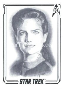 Star Trek 50th Anniversary Trading Card A29