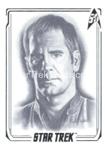 Star Trek 50th Anniversary Trading Card A44