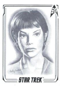 Star Trek 50th Anniversary Trading Card A45