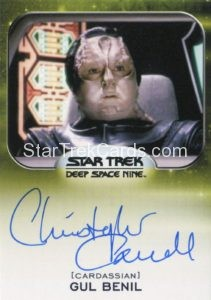 Star Trek 50th Anniversary Trading Card Autograph Christopher Carroll