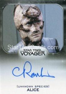 Star Trek 50th Anniversary Trading Card Autograph Claire Rankin