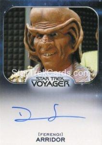 Star Trek 50th Anniversary Trading Card Autograph Dan Shor