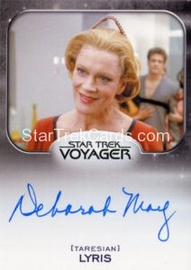 Star Trek 50th Anniversary Trading Card Autograph Deborah May