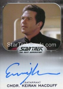 Star Trek 50th Anniversary Trading Card Autograph Erich Anderson