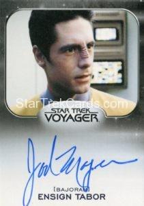 Star Trek 50th Anniversary Trading Card Autograph Jad Mager