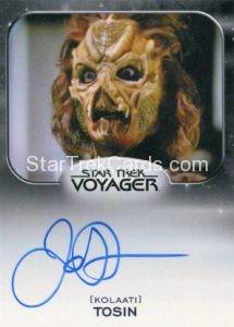 Star Trek 50th Anniversary Trading Card Autograph James Horan