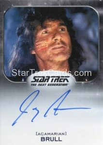 Star Trek 50th Anniversary Trading Card Autograph Joey Aresco