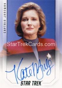 Star Trek 50th Anniversary Trading Card Autograph Kate Mulgrew