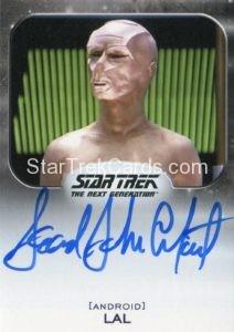 Star Trek 50th Anniversary Trading Card Autograph Leonard John Crofoot