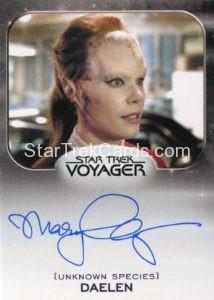 Star Trek 50th Anniversary Trading Card Autograph Mary Elizabeth McGlynn
