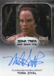 Star Trek 50th Anniversary Trading Card Autograph Melanie Smith