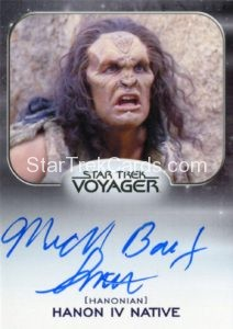 Star Trek 50th Anniversary Trading Card Autograph Michael Bailey Smith