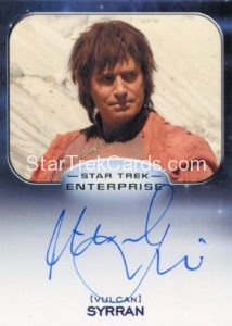 Star Trek 50th Anniversary Trading Card Autograph Michael Nouri