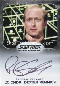 Star Trek 50th Anniversary Trading Card Autograph Robert Schenkkan