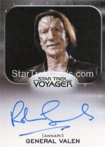 Star Trek 50th Anniversary Trading Card Autograph Robin Sachs
