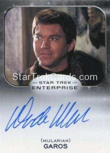 Star Trek 50th Anniversary Trading Card Autograph Wade Williams