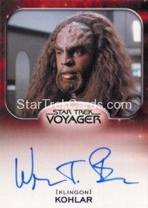 Star Trek 50th Anniversary Trading Card Autograph Wren T Brown