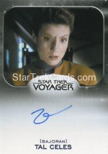 Star Trek 50th Anniversary Trading Card Autograph Zoe McLellan