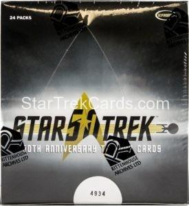 Star Trek 50th Anniversary Trading Card Box