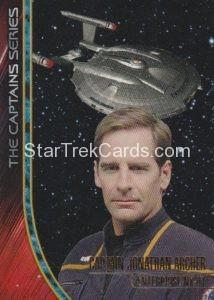 Star Trek 50th Anniversary Trading Card Captain Jonathan Archer Case Topper