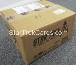 Star Trek 50th Anniversary Trading Card Case