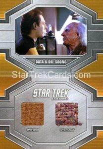 Star Trek 50th Anniversary Trading Card DRC1