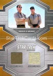 Star Trek 50th Anniversary Trading Card DRC4