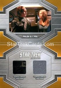 Star Trek 50th Anniversary Trading Card DRC6
