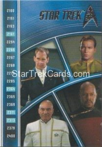 Star Trek 50th Anniversary Trading Card E10