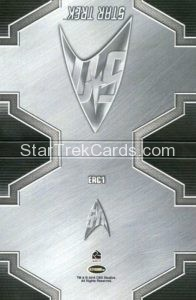 Star Trek 50th Anniversary Trading Card ERC1 Back