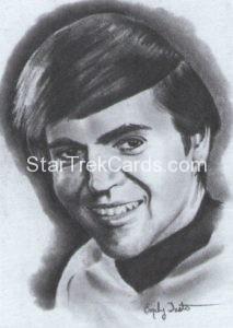 Star Trek 50th Anniversary Trading Card Emily Tester ArtiFEX Original Artwork Ensign Chekov 1