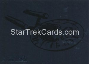 Star Trek 50th Anniversary Trading Card P1