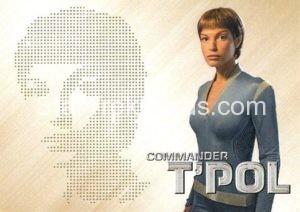 Star Trek 50th Anniversary Trading Card PC10